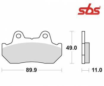 SBS -jarrupalat, ceramic taka, 542LF