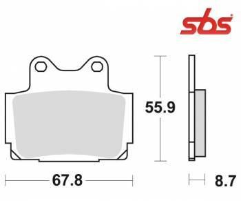SBS -jarrupalat, ceramic taka, 570LF