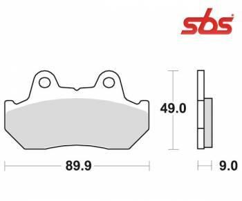 SBS -jarrupalat, ceramic taka, 572LF