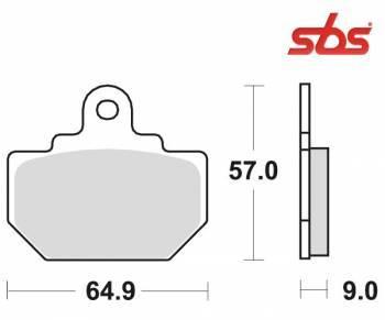SBS -jarrupalat, ceramic taka, 610LF
