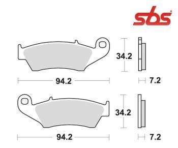 SBS -jarrupalat, ceramic, 694HF