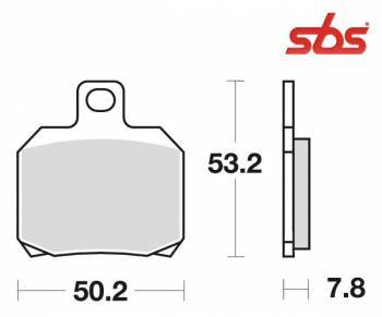 SBS -jarrupalat, ceramic, 730HF