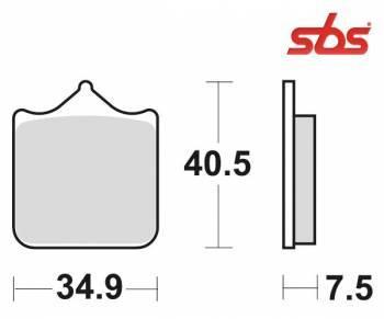 SBS -jarrupalat, dual carbon, 762DC