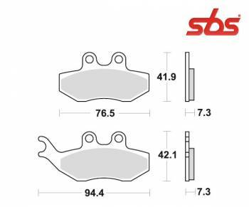 SBS -jarrupalat, ceramic, 774HF