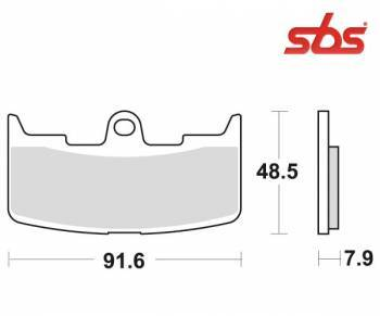 SBS -jarrupalat, sinter, 795HS