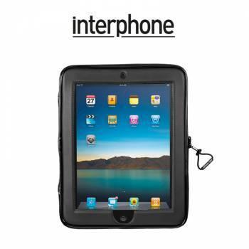Interphone -teline+laukku tankokiinnityksellä, iPad